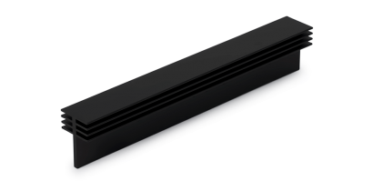 Black Anodized Extrusion