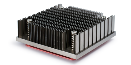 Cold forged heat sink