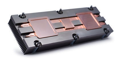 Embedded heat pipe extrusion