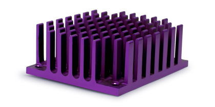 Extruded Pin Fin