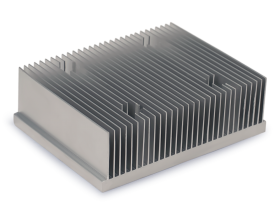 machined extruded heat sink