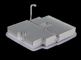 aluminum extrusion with clip