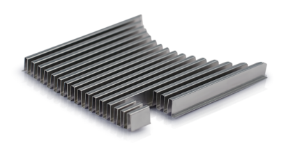 folded fin heat sink