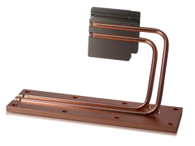 Cold plate heat pipe