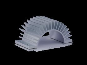 half radial extrusion