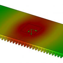 Extrusion simulation