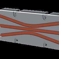 Heat pipe spreader render