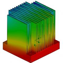 Heat sink thermals