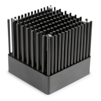cold forged pin fin heat sink