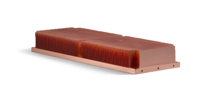 Skived Copper Heatsink